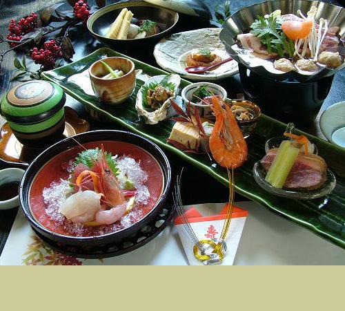 岩倉市のちゃんこ鍋のふじ蔵の懐石料理の写真